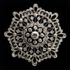 antique brooch diamonds lace